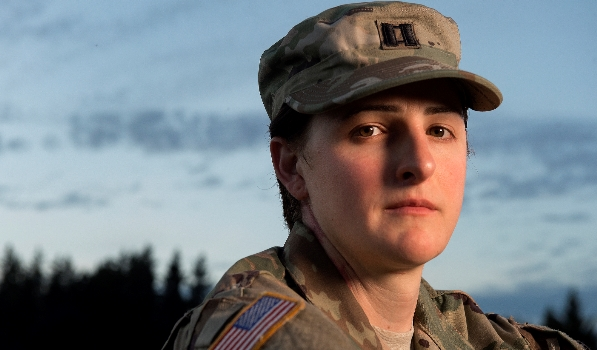 Army Capt. Jennifer Peace is transgender Photo courtesy Army Times