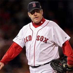 Former Major League Baseball pitcher Curt Schilling