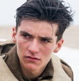 Fionn Whitehead as Tommy, a young British soldier Copyright © 2017 Warner Bros. All rights reservedPhoto: Melinda Sue Gordon