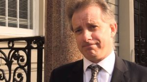 Former British spy Michael Steele