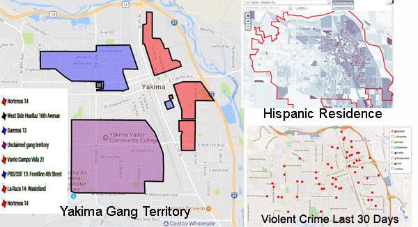 Gang map