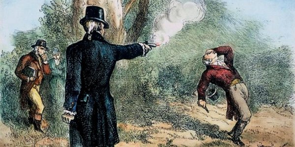 Duel between Alexander Hamilton and Aaron Burr