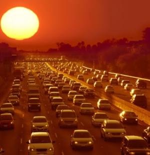 Hot sun cars