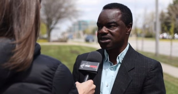 John Alabi of Ontario, Canada, fined for offending his Muslim tenants by not removing his shoes when he walked into their apartment.