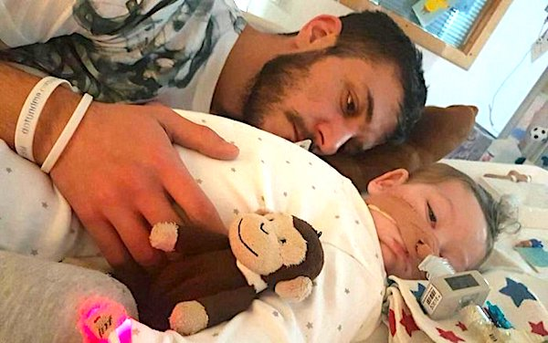 Father Chris Gard and Baby Charlie Gard