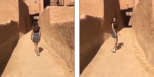 Saudi woman who wore skirt in viral video arrested