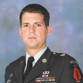 U.S. Army Sgt. First Class Christopher Speer