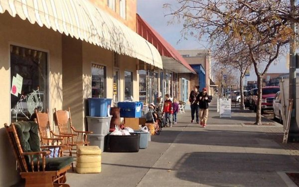Historic Downtown Kennewick, Washington. The city has been a hotbed of refugee resettlement over the past 20 years.
