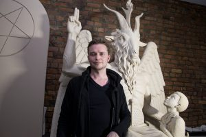 Lucien Greaves, co-founder of the Satanic Temple