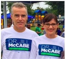 The McCabes on the campaign trail