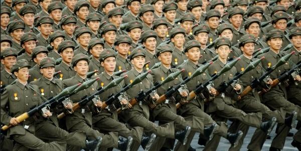 North Korea vows to build 'invincible' military while slamming U.S.