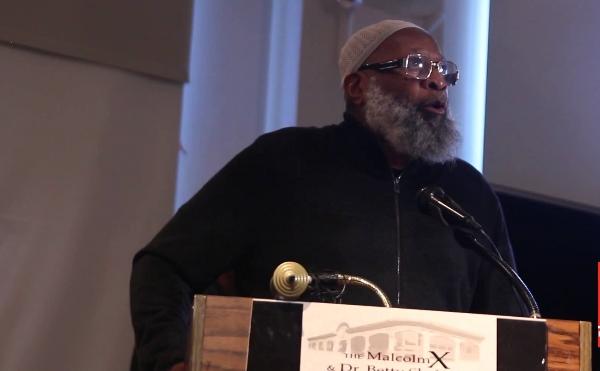 Sekou Odinga, Muslim activist and former Black Liberation Army member.