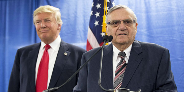 President Trump and former Sheriff Joe Arpaio (Photo: Twitter)