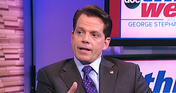 "Anthony Scaramucci on ABC's ""This Week"" with George Stephanopoulos, Aug. 13, 2017"