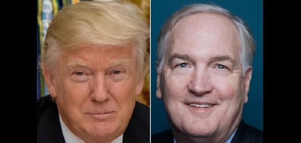 President Trump, Luther Strange
