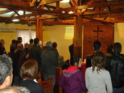 Christians gather for worship near Istanbul, Turkey