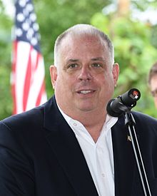 Maryland's Republican Gov. Larry Hogan