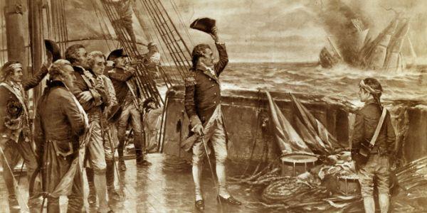 Naval hero John Paul Jones