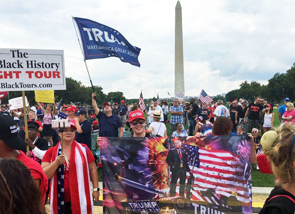 Sept. 16 'Mother of All Rallies' in Washington, D.C. (WND photo)