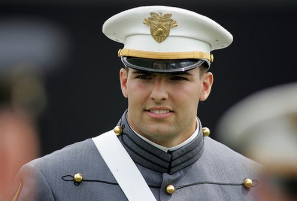Alejandro Villanueva, the U.S. Army Ranger who was signed by the NFL following three tours of duty in Afghanistan