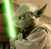 Yoda in 'Star Wars: Episode III - Revenge of the Sith'