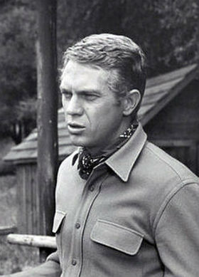 "Steve McQueen in ""Wanted: Dead or Alive,"" 1959."