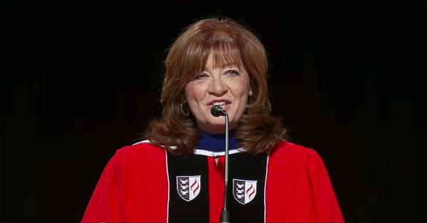 Biola University Provost Deborah Taylor (Photo: YouTube screenshot)