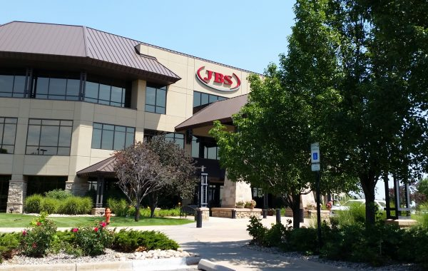 The U.S. headquarters for Brazil-based JBS Swift meat company in Greeley, Colorado. Photo courtesy Refugee Resettlement Watch