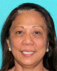 The Las Vegas Metropolitan Police Department tweeted this image of a woman, Marilou Danley, who is sought for questioning regarding the investigation into the shooting in Las Vegas. Officials ask that anyone with information call 9-1-1 (Photo: Twitter)