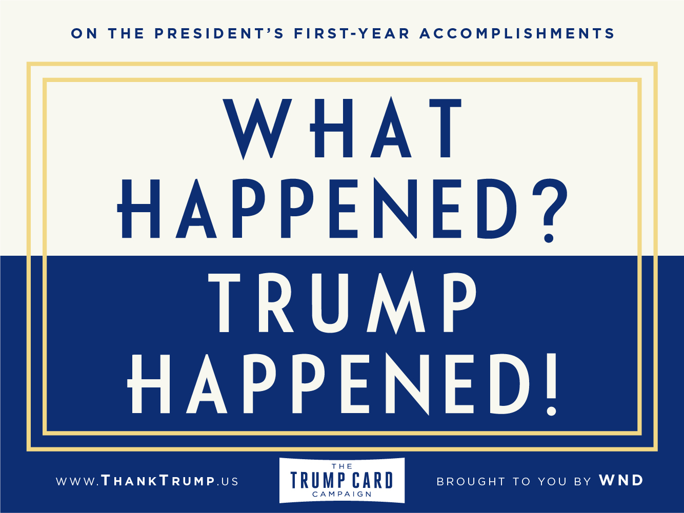 Thank Trump Card #5