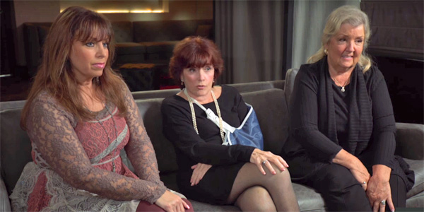Bill Clinton accusers Paula Jones (left), Kathleen Willey (middle) and Juanita Broaddrick (right) (Photo: YouTube screenshot)