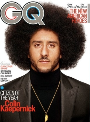 There is absolutely zero brain function in the prep of GQ cover. Seriously!