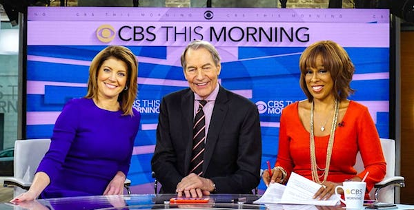 "Charlie Rose is a co-host of ""CBS This Morning"""