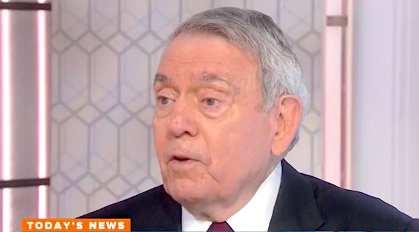 "Dan Rather on NBC's ""Today"" in November 2017"