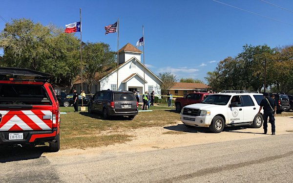 First Baptist Church in Sutherland Springs, Texas, where more than two-dozen people were killed in November