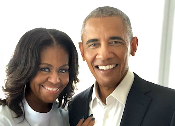 Michelle and Barack Obama (Twitter/Michelle Obama)