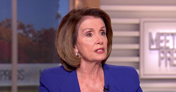 Nancy Pelosi: 'Trump is goading us to impeach him'