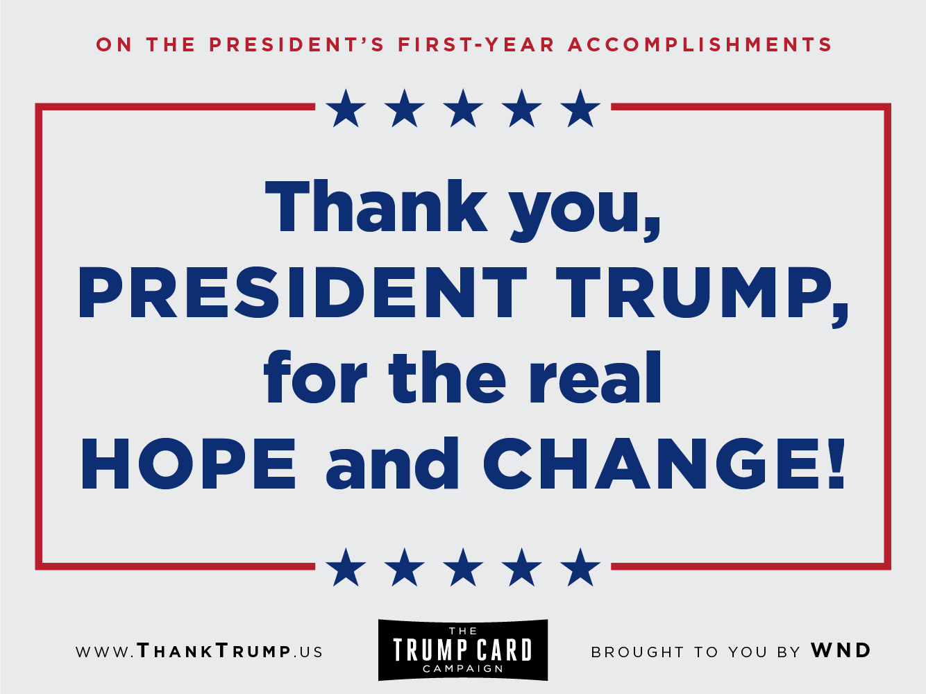 Thank Trump Card #4