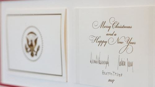 ChristmasCardTrump