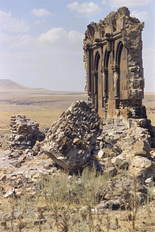 The ruins of Ani, Armenia – the world's first Christian nation. Medieval mythology claims that Cartaphilus, Pilate's cursed gatekeeper, sought refuge in Armenia. The Roman historian Tacitus wrote that Quirinius was an adviser to Caius in Armenia (Photo: Anthony C. LoBaido)
