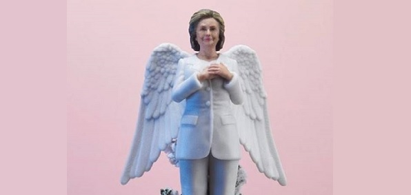 Women To Look Up To's Hillary Clinton Christmas Tree Topper