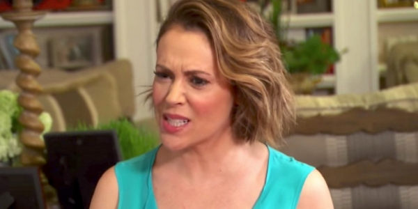 Alyssa Milano: Unwanted advances are like cancer, one stage leading to another