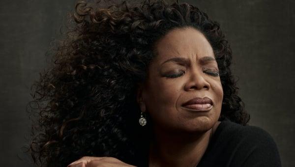 Oprah, contemplating gray but not embracing it