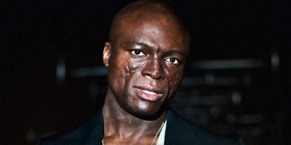 British-born singer and songwriter Seal