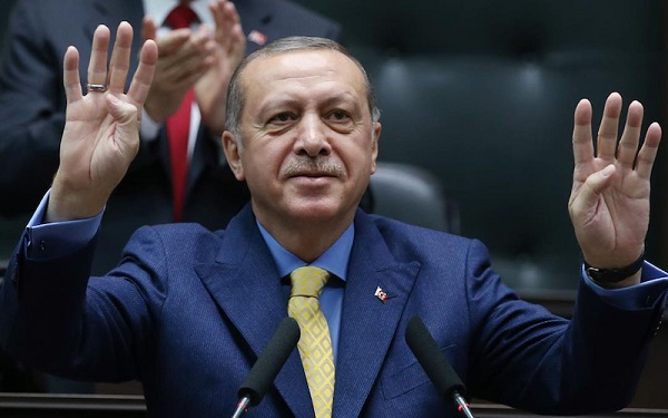 Erdogan demands Muslims 'move as 1' against Israel