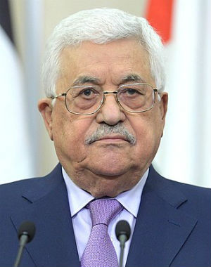 Palestinian Authority President Mahmoud Abbas (Wikipedia)