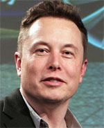 Elon Musk, founder and CEO of SpaceX and co-founder and CEO of Tesla