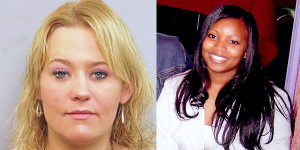 Jessica Ford, 35, (left) was arrested Feb. 23, 2018, after she intentionally rammed a White House security barrier with her white Chevy van while armed. When officers attempted to stop her, she reversed and struck the barrier two more times. In 2013, unarmed mother Miriam Carey made a wrong turn into the White House guard post, was chased by federal officers and shot to death in a hail of as many as 20 bullets