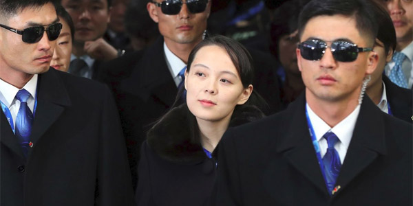 Kim Yo-jong, sister of North Korean dictator Kim Jong Un (Photo: Twitter)