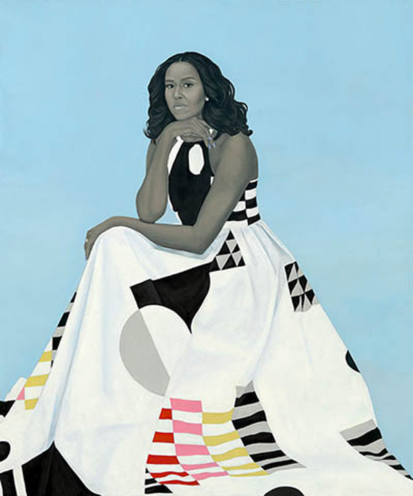 Official portrait of former first lady Michelle Obama (Photo: RushLimbaugh.com)